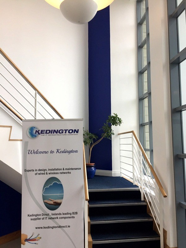Internal painting for  Kedington Direct, Clonshaugh Business & Technology Park, Dublin by Abhaile Decorators, Ireland