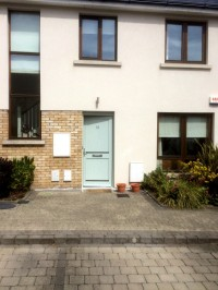A Dublin Home after outside painting of front door  by Abhaile Decorators, Dublin, Ireland