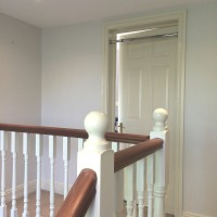 Inside painting and decorating of a Dublin home by Abhaile Decorators, Ireland